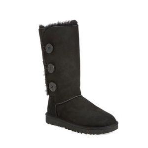 UGG Button Triplet Genuine Shearling Boot